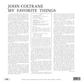 John Coltrane - My Favorite Things - 180g import on colored vinyl 20/20 series