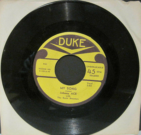 Johnny Ace - My Song b/w Follow The Rule