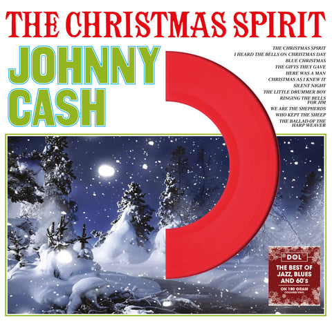 Johnny Cash - The Christmas Spirit - on Colored vinyl