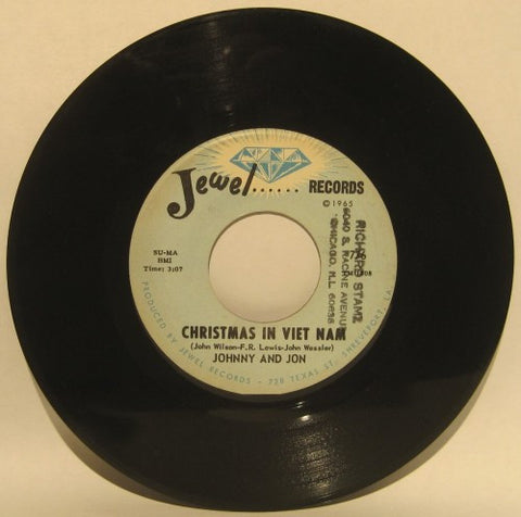 Johnny and Jon - Christmas in Vietnam/ Why did you leave me