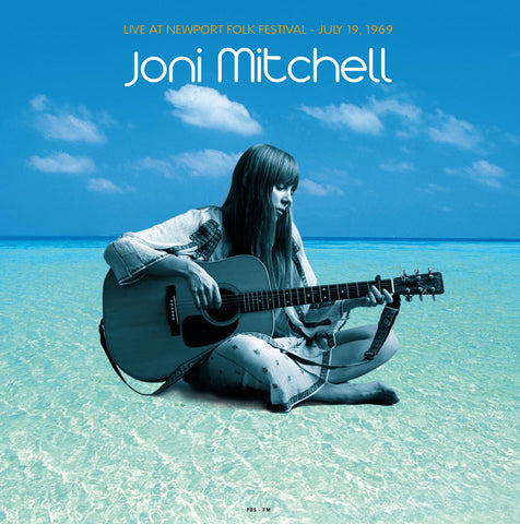 Joni Mitchell - Live at Newport 1969 - import 180g LP