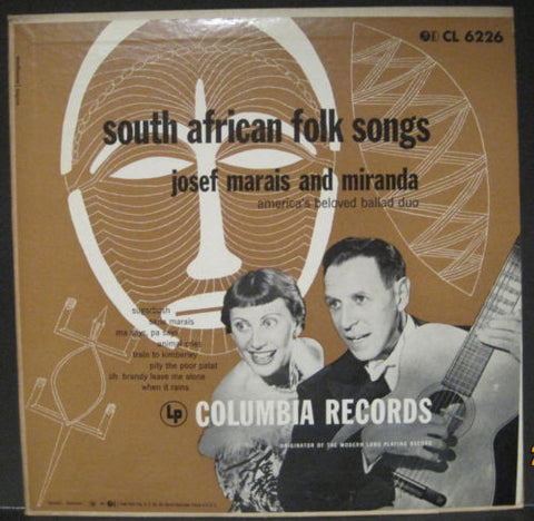 Josef Marais and Miranda - South African Folk Songs