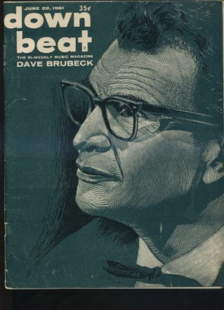 Down Beat - June 22, 1961 / Dave Brubeck
