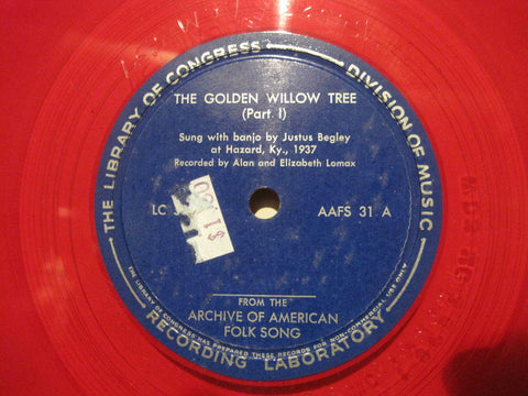 Justus Begley - The Golden Willow Tree b/w The Rambling Boy