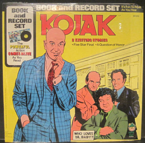 KOJAK - Two Exciting Stories SEALED