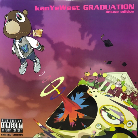 Kanye West - Graduation - The Collectors Edition - 3 LP Limited Edition import colored Vinyl
