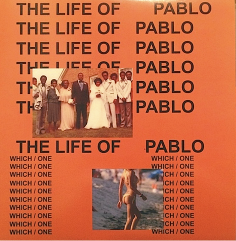 Kanye West - The Life of Pablo - 2 LP Limited Edition import colored Vinyl