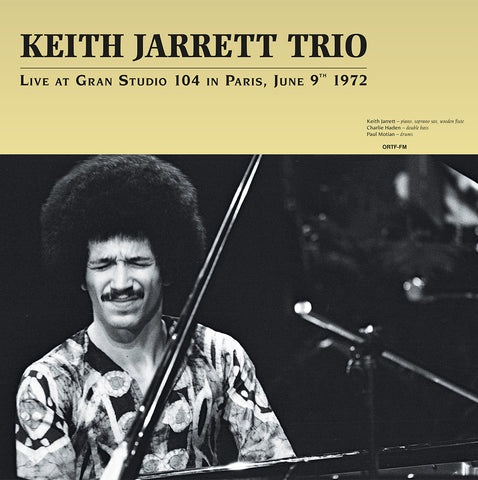 Keith Jarrett - Live at Gran Studio Paris, 1972 - 180g import 2 LP