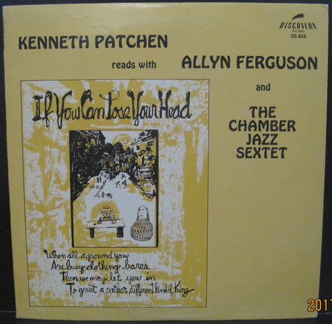 Kenneth Patchen w/ Allyn Ferguson & The Chamber Jazz Sextet