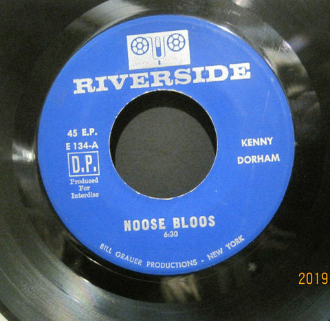 Kenny Dorham - Noose Bloos b/w End of a Love Affair & I'll Be Seeing You EP