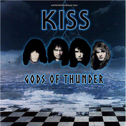 Kiss - Gods of Thunder - Live 1994 broadcast on import BLUE vinyl