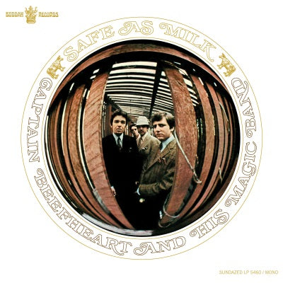 Captain Beefheart - Safe as Mile on limited edition White Vinyl!