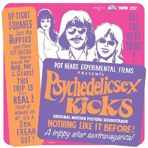 Psychedelic Sex Kicks - Original Motion Picture Soundtrack (COLOR VINYL + DVD)