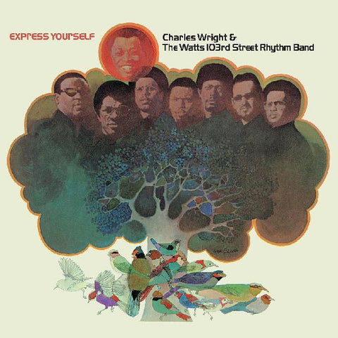 Charles Wright & the Watts 103rd St Rhythm Band - Express Yourself LTD colored vinyl