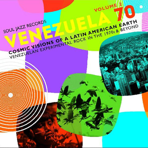 Various - Venezuela '70 Volume 2 - 2 LP set w/ download