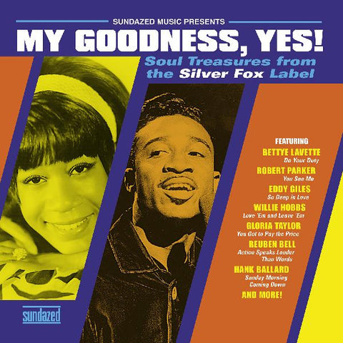 Various - My Goodness, Yes!  - Soul Treasures from the Silver Fox label on limited gold vinyl