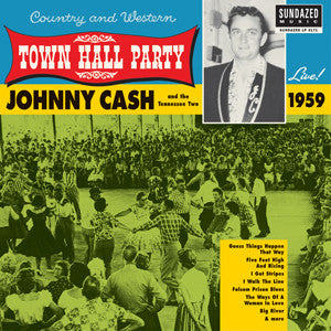 Johnny Cash - Town Hall Party - Live! 1959