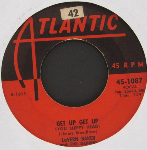LaVern Baker and The Gliders - Get Up Get Up (You Sleepy Head) b/w My Happiness Forever