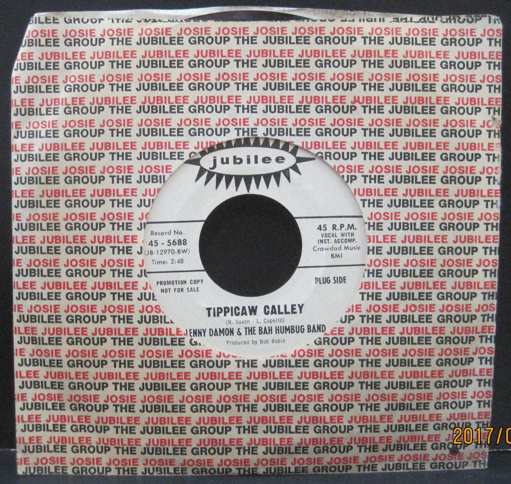 Lenny Damon & The Bah Humbug Band - Tippicaw Calley b/w Sookie Mama