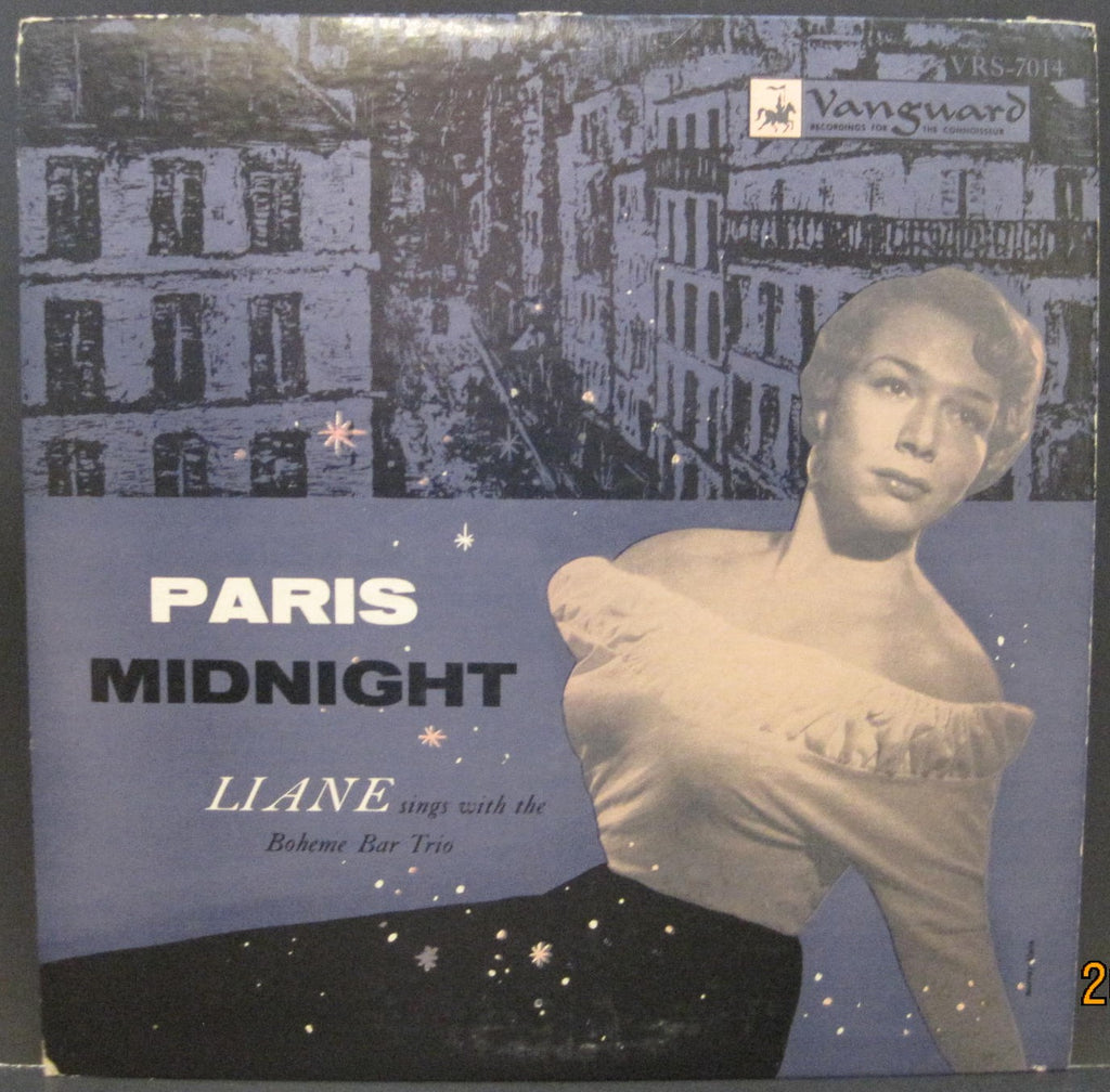LIANE & The Boheme Bar Trio - Paris Midnight
