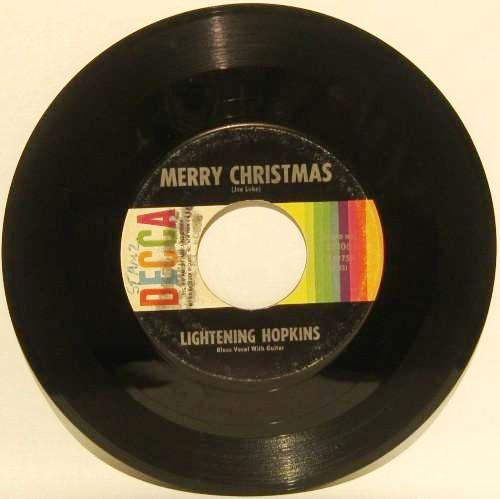 Lightning Hopkins - Happy New Year/ Merry Christmas