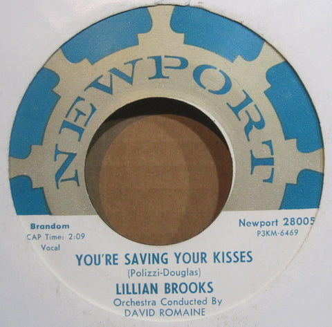Lillian Brooks - You're Saving Your Kisses b/w Love Me Now