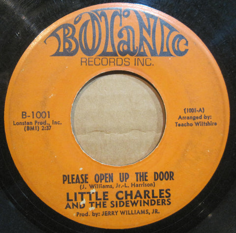 Little Charles & The Sidewinders - Please Open Up The Door b/w Shanty Town