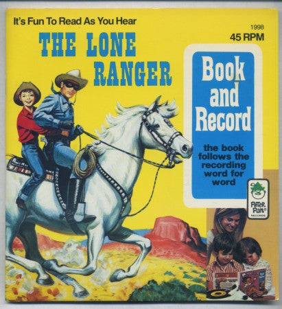 The Lone Ranger Book and Record