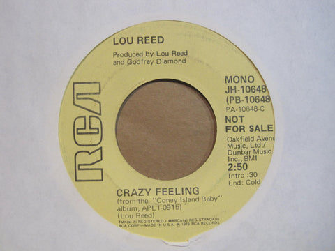 Lou Reed - Crazy Feeling PROMO