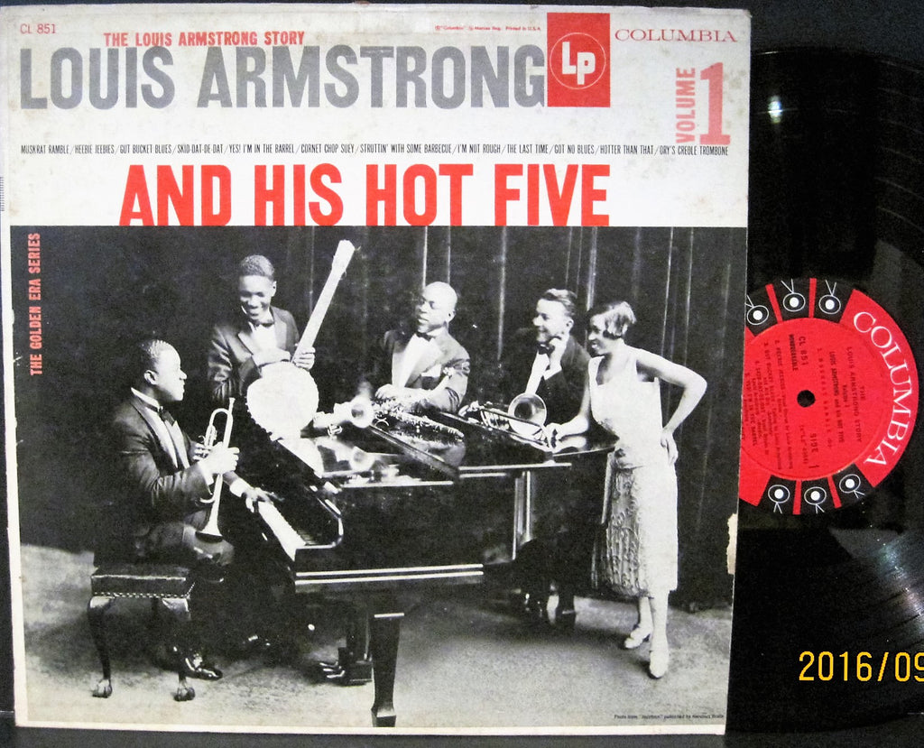 Louis Armstrong & His Hot Five Volume 1