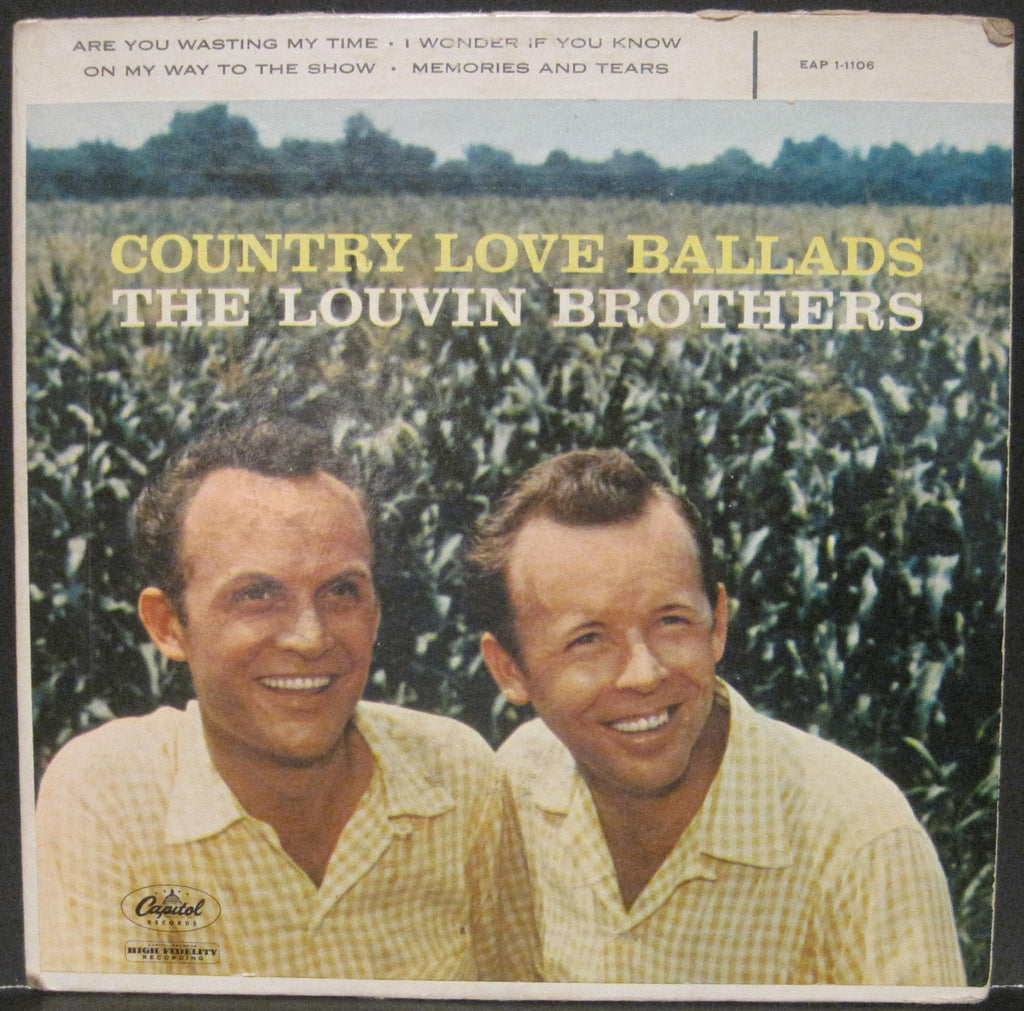 Louvin Brothers - Country Love Ballads EP
