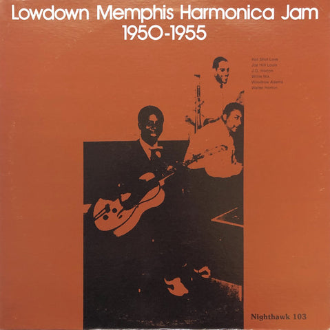 Various - Lowdown Memphis Harmonica Jam 1950 to 1955