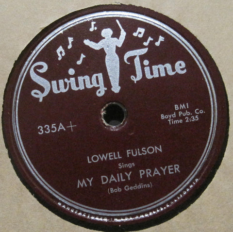 Lowell Fulson - My Daily Prayer b/w Cash Box Boogie