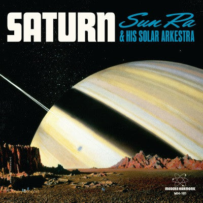 Sun Ra - Saturn / Mystery, Mr. Ra on Orange vinyl
