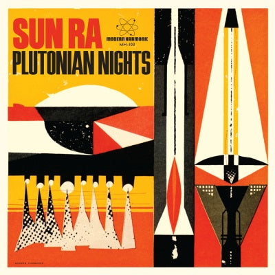 Sun Ra - Plutonian Nights b/w Reflects Motion Pt. 1 - OrangeRed vinyl