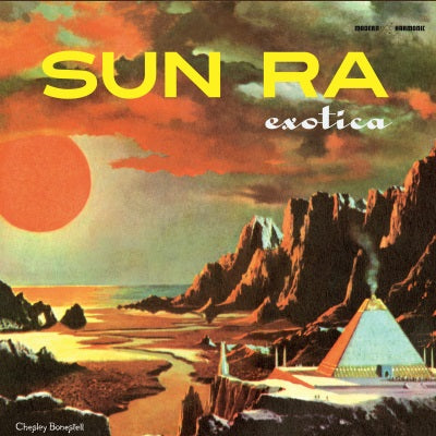 Sun Ra - Exotica Limited Edition 3 LP set on colored vinyl