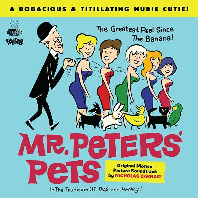 Mr. Peters' Pets - Motion Picture Soundtrack on LTD colored vinyl w/ DVD!