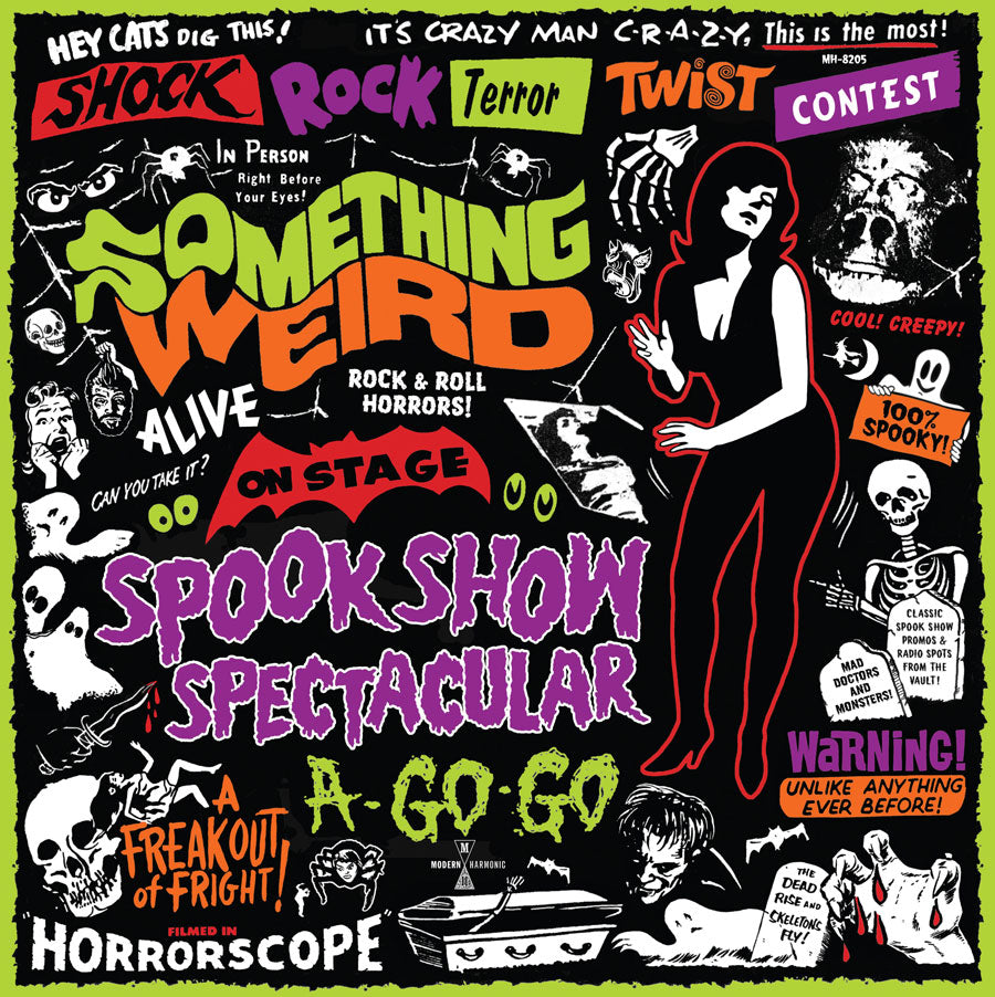 Something Weird - Spook Show Spectacular A-Go-Go - on GREEN Vinyl + DVD