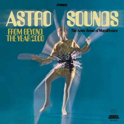 Jerry Cole - Astro Sounds From Beyond the Year 2000 Limited edition on colored vinyl!