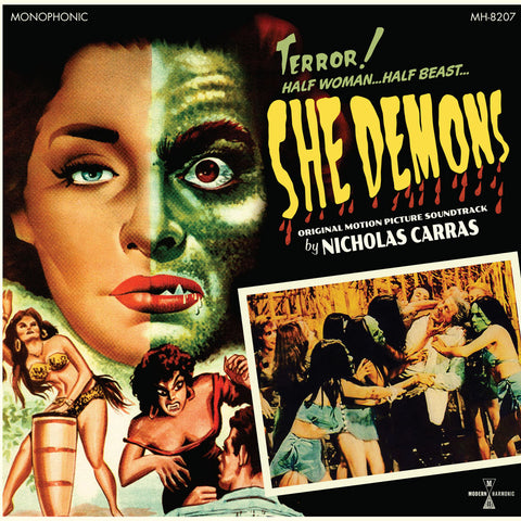 She Demons - Motion Picture Soundtrack - Limited Colored Vinyl + Poster