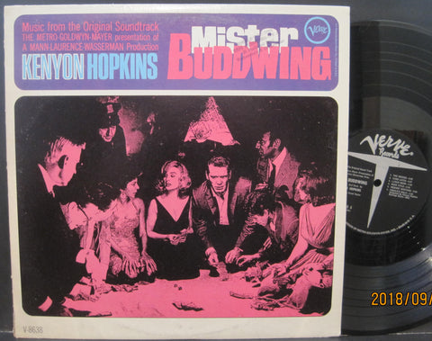 Kenyon Hopkins - Mister Buddwing Soundtrack Lp