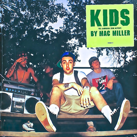 Mac Miller - KIDS (Kickin Incredibly Dope Shit) [Mixtape] 2 LP set