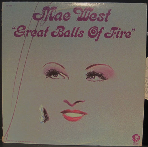 "Mae West ""Great Balls of Fire"""