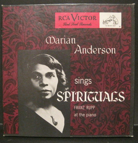 Marian Anderson - Sings Spirituals (RCA 45rpm Box Set)