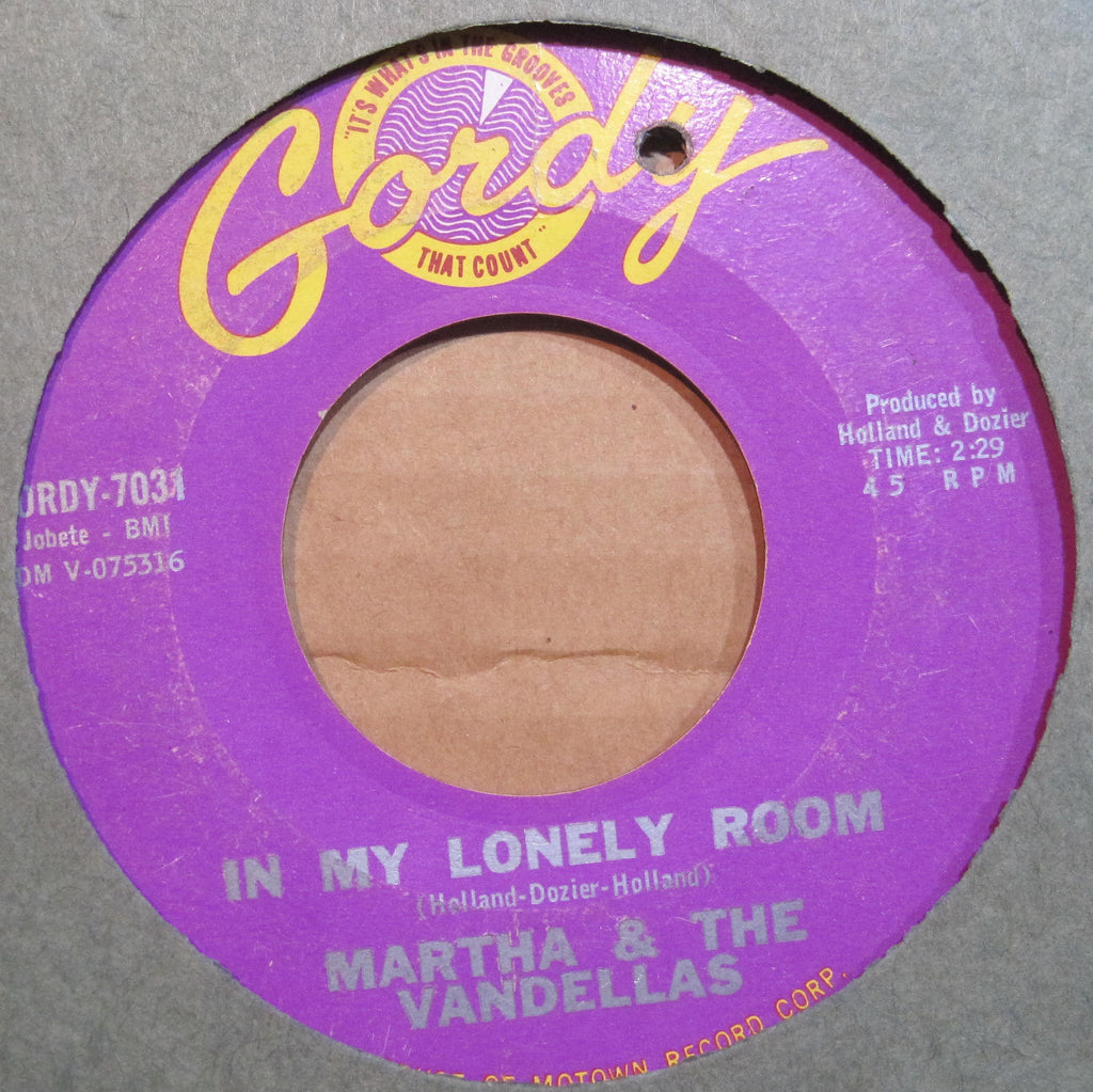 Martha & The Vandellas - In my Lonely Room b/w A Tear For The Girl