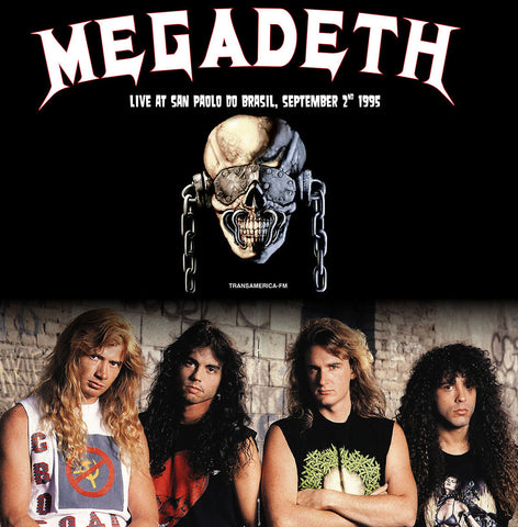 Megadeth - Live at Sao Paolo do Brasil, 1995 - 180g colored vinyl
