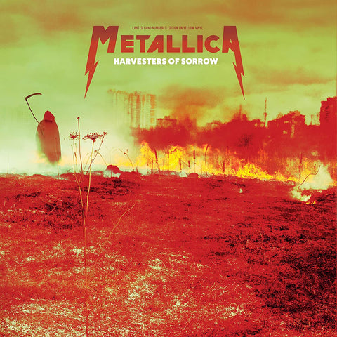 Metallica - Harvesters of Sorrow - Live in Moscow on YELLOW vinyl