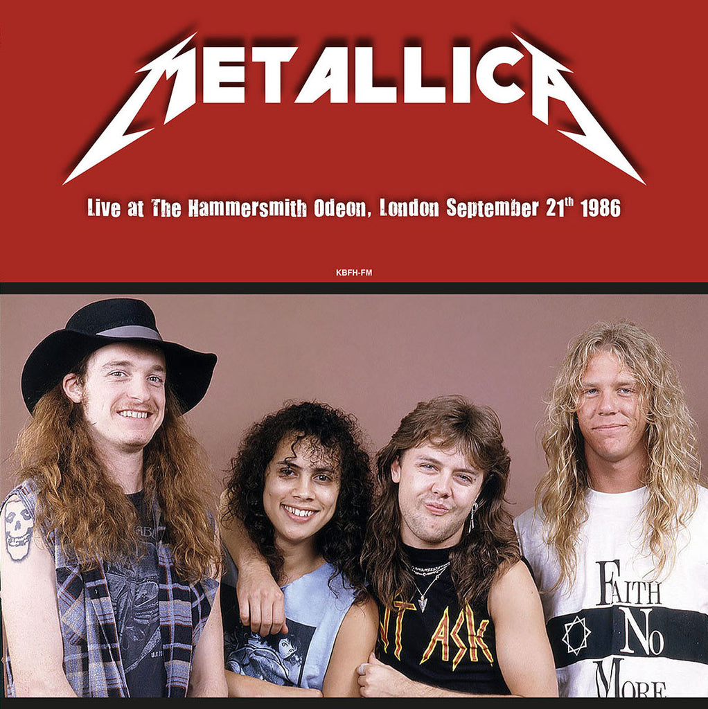 Metallica - Live at Hammersmith Odeon, 1986 - 180g LP