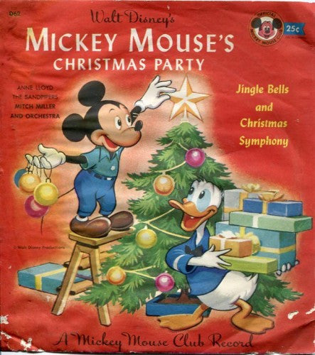 Mickey Mouse - Mickey Mouse's Christmas Party/ Santa's Toy Shop / O' Christmas Tree