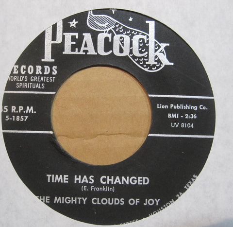 Mighty Clouds of Joy - Time Has Changed b/w I Love Jesus So